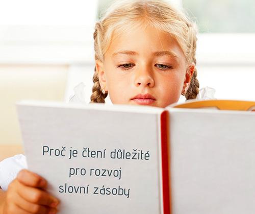 Proč je čtení důležité pro rozvoj slovní zásoby