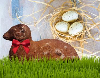 Velikonoční beránek - letos zdravěji