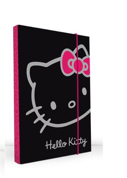 Kartonové desky Hello Kitty A5 černé