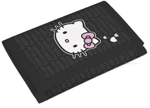 Peněženka Hello Kitty black