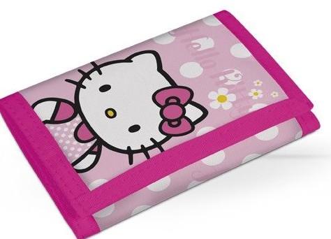 Peněženka Hello Kitty růžová