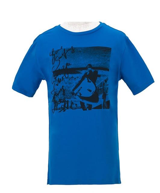 Pánské tričko Wolf modré L