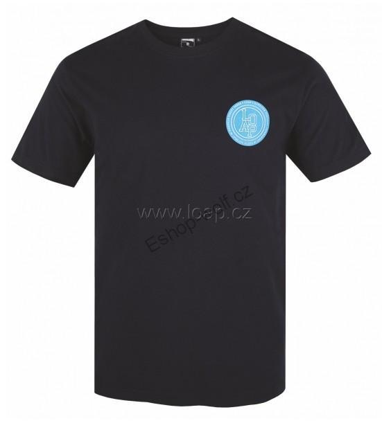 Pánské tričko Loap Jimmy černé M