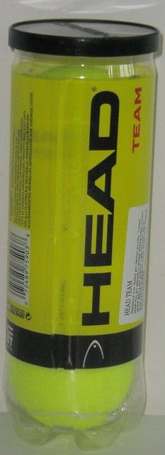Tenisové míčky HEAD TEAM - SADA 3 KS