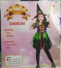 Karnevalový kostým Čarodějka vel. 110-120