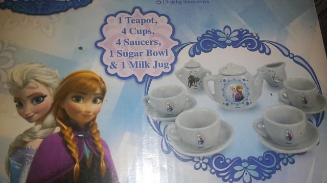 Čajový set pro panenky Frozen Ledové království