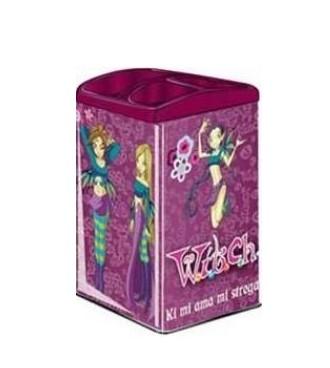 Stojánek na tužky Witch vínový