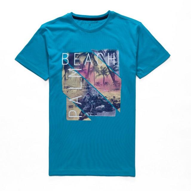 Chlapecké tričko Wolf petrolejová 164