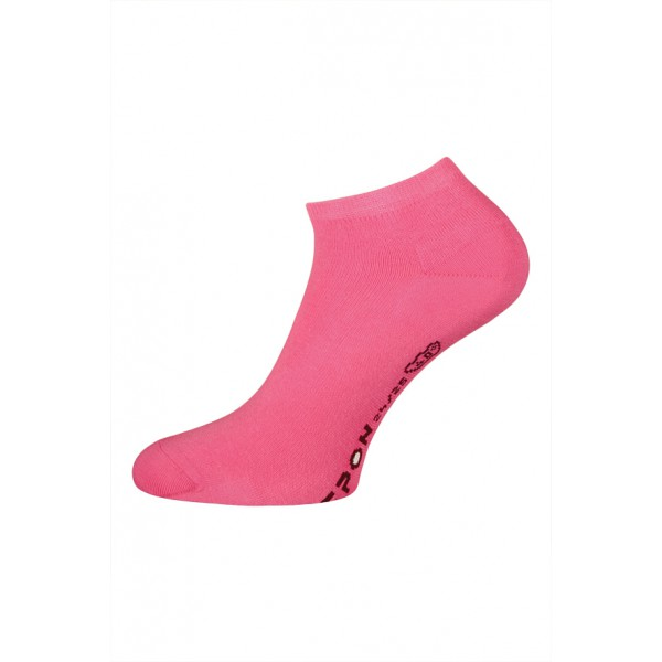 Dámské české nízké ponožky vel. 24-25 (Eur 37-38) tmavě růžové 24-25 (EUR 37-38)