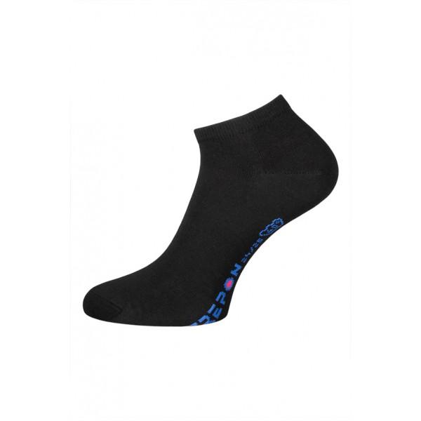 Dámské české nízké ponožky vel. 24-25 (Eur 37-38) černé 24-25 (EUR 37-38)