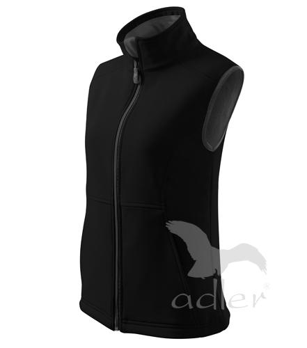 Dámská softshellová vesta Adler vel. M černá M