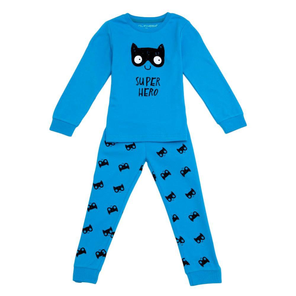 d8aed7aeb98 Chlapecké pyžamo Wolf teplejší vel. 86