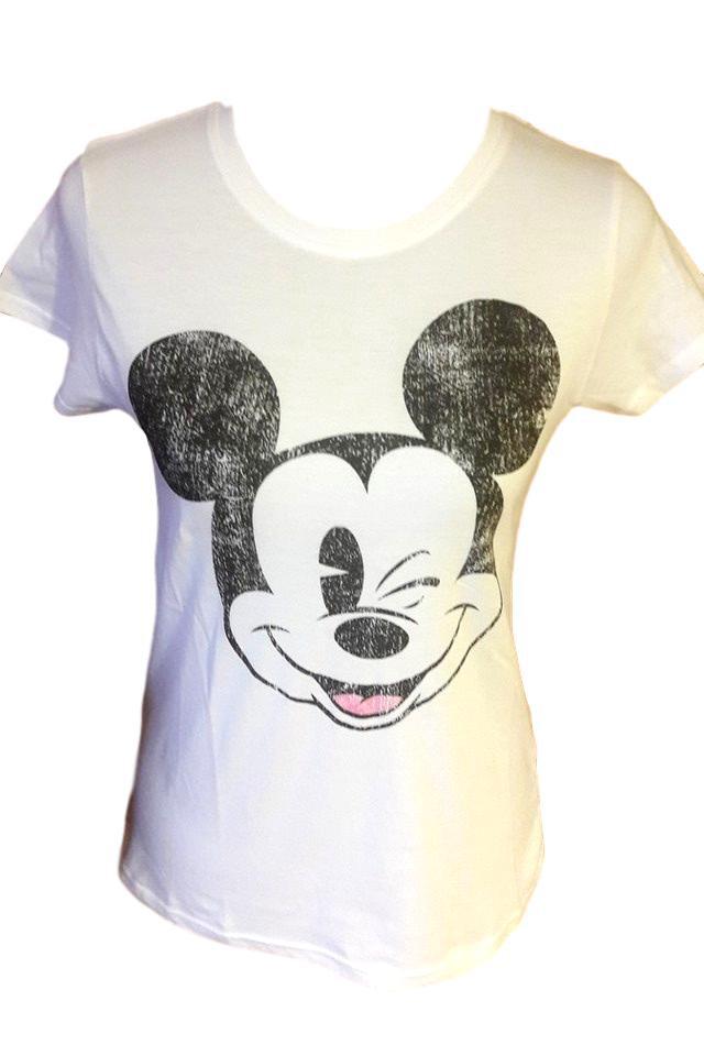81a8d9c2c760 Dámské tričko Minnie Primark vel. M bílé