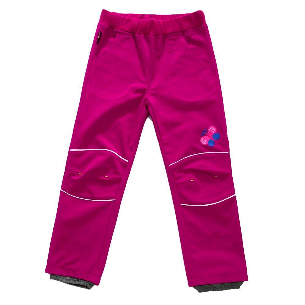 Dívčí softshellové kalhoty Wolf (jarní bez fleesu) vel. 110 růžové ... 72a1165316