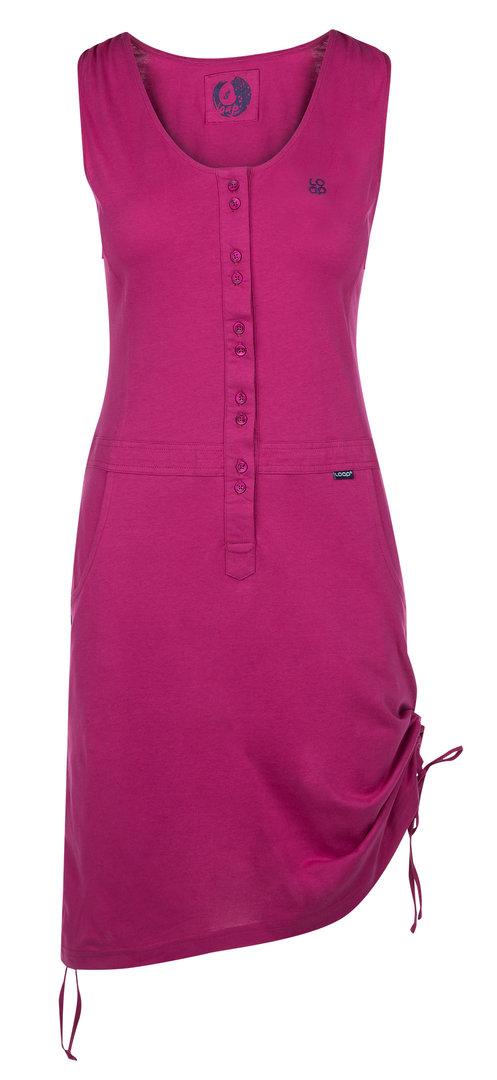 6b1698950cf Dámské šaty Loap vel. XS-XL tmavě růžové