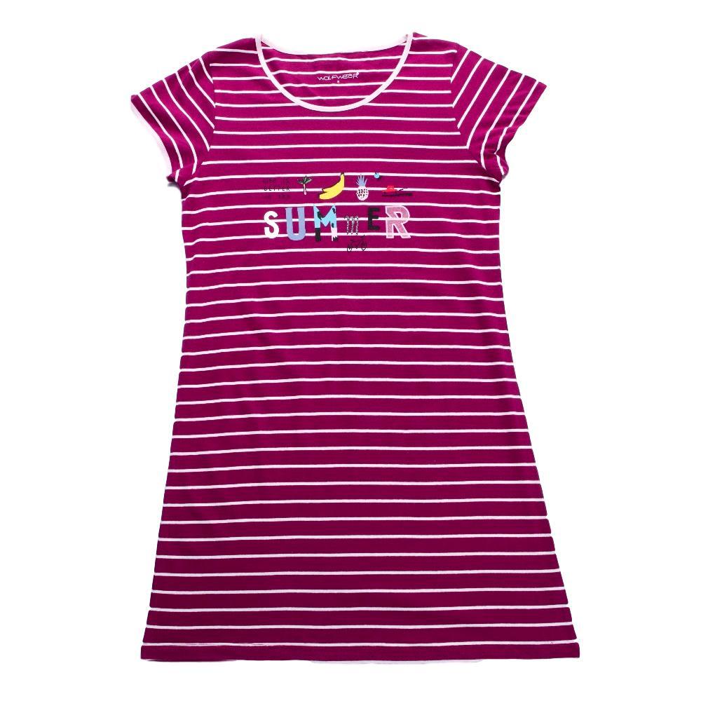 47eddd976500 Dámské tričkové šaty Wolf vel. S-XXL proužkované