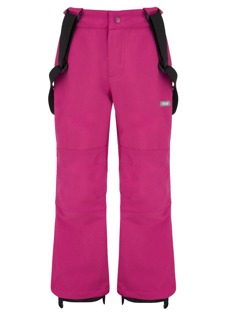 3d0b190cc Dětské zimní softshellové kalhoty Loap Luser vel. 116-164 tmavě růžové