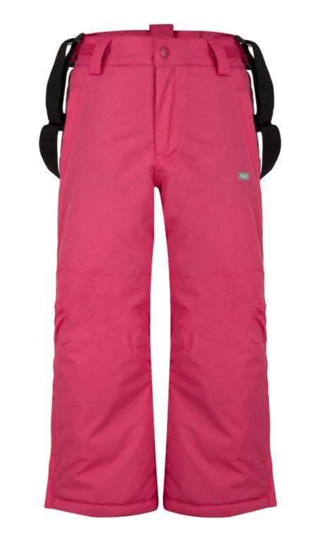 23ea73e8a Dětské lyžařské kalhoty / oteplováky Loap Flops vel. 116-164 tmavě růžové
