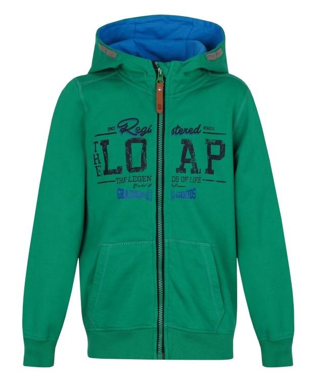 ff7ec7c682 Chlapecká mikina Loap Dumbo vel. 110 116-158 164 zelená