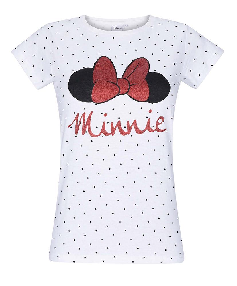 3e256d595f38 Dámské tričko Minnie vel. S-XL bílé