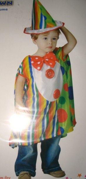 Karnevalový kostým Klaun vel. 92-104