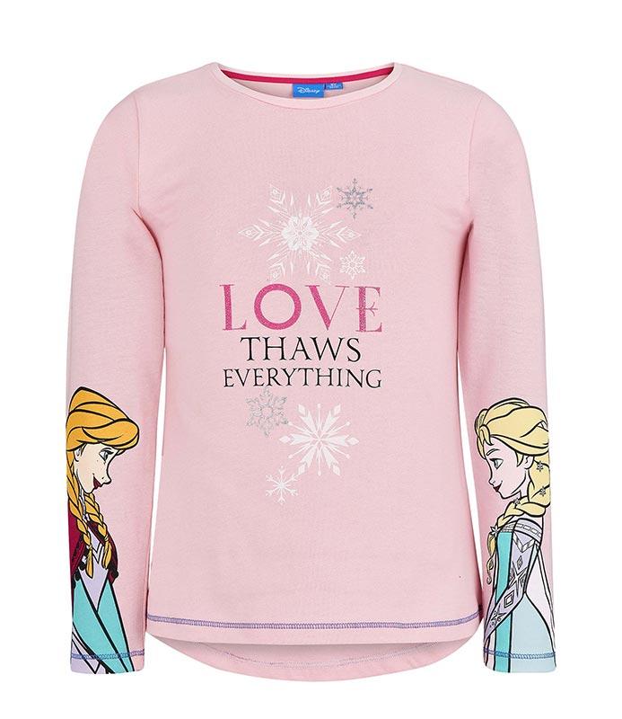 523fbdc83b85 Dívčí triko Frozen – Ledové království vel. 98-140 světle růžové