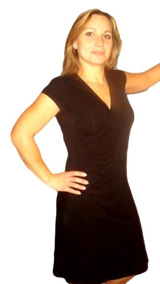 Dámské šaty Fashion Mami vel. M černé M
