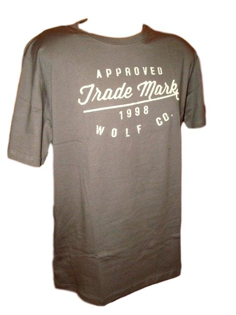 Pánské tričko Wolf tmavě šedé L