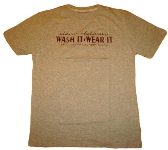 Pánské tričko Wolf šedý melír šedá L