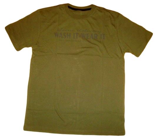 Pánské tričko Wolf khaki khaki XL