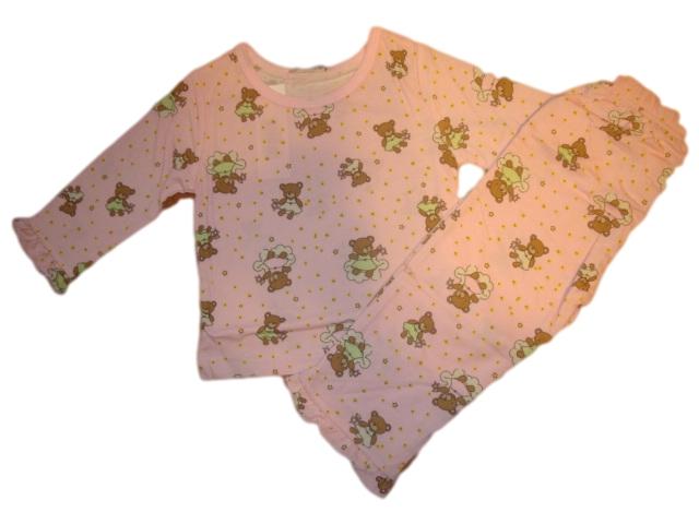 Dívčí pyžamo Wolf vel. 68 růžové 68