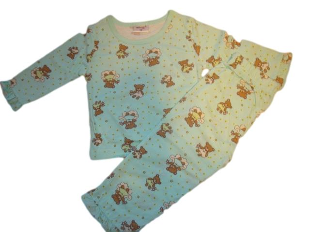 Dívčí pyžamo Wolf vel. 68 zelené 68