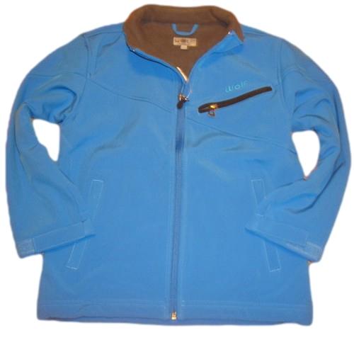 Jarní/podzimní softshellová bunda Wolf světle modrá 122