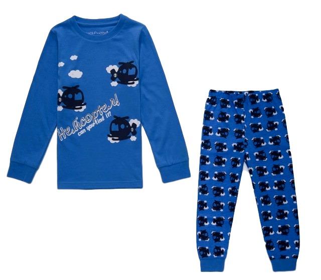 35d0169cb4f Chlapecké pyžamo Wolf vel. 86 modré