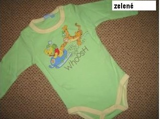 Body Disney ZELENÉ  vel. 62