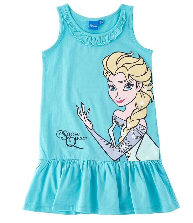 Šaty Frozen vel. 98 tyrkysové 98