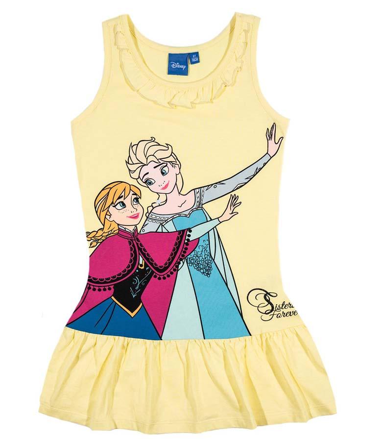 Šaty Frozen vel. 98 žluté 98