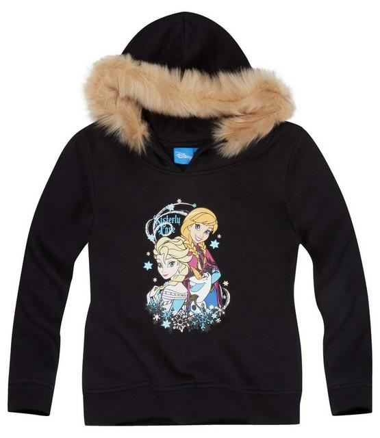 Dívčí mikina Frozen vel. 128 černá 128