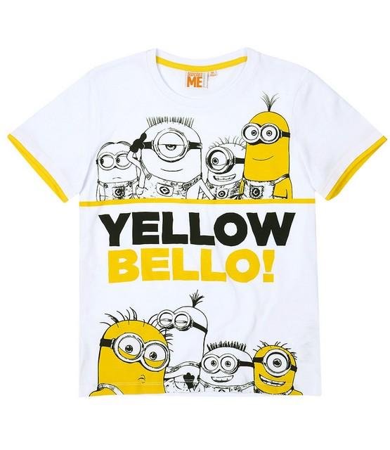 Chlapecké tričko Mimoni vel. 116 bílé 116 1c62844352