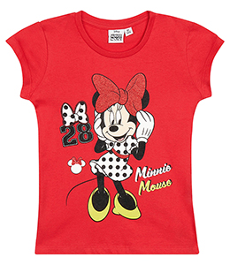 8529112b2de8 Dívčí tričko Minnie vel.