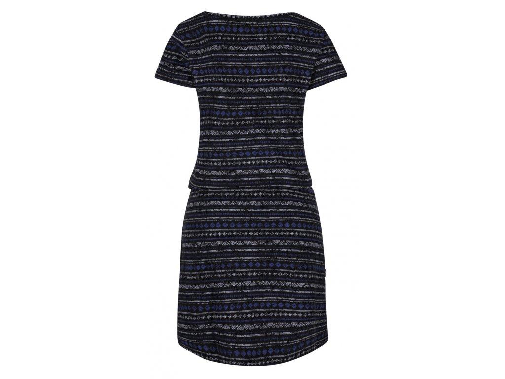 1ad0fafa7f7d ... Dámské šaty Loap Bereta vel. XS-XL černé s tm.modrou