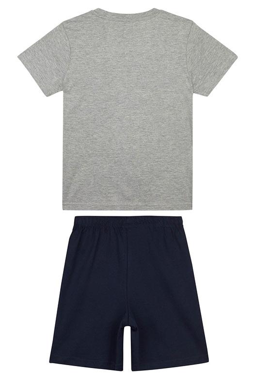 cdc1580e3f 116-164 šedé Chlapecké letní pyžamo Simpsons vel. 116-164 šedé
