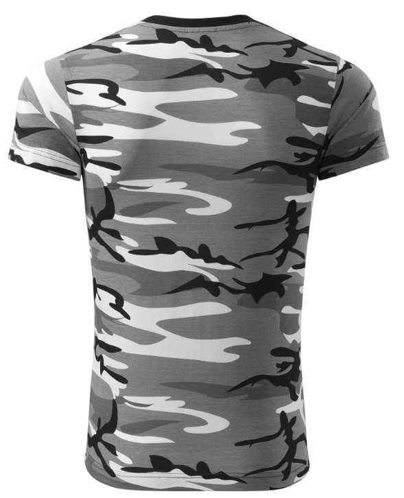 Pánské tričko Adler šedý maskáč  c4b73bc1e1