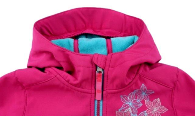 Softshellový kabát Loap Caldera tmavě růžový  7f92ab1343