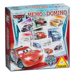 Pexeso a domino Cars