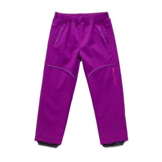 b2667b44aa1 Dívčí softshellové kalhoty Wolf vel. 86 fialové