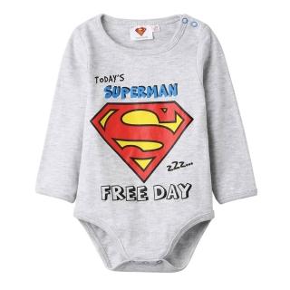 Chlapecké body Superman vel. 62-92 šedé 31e60248460