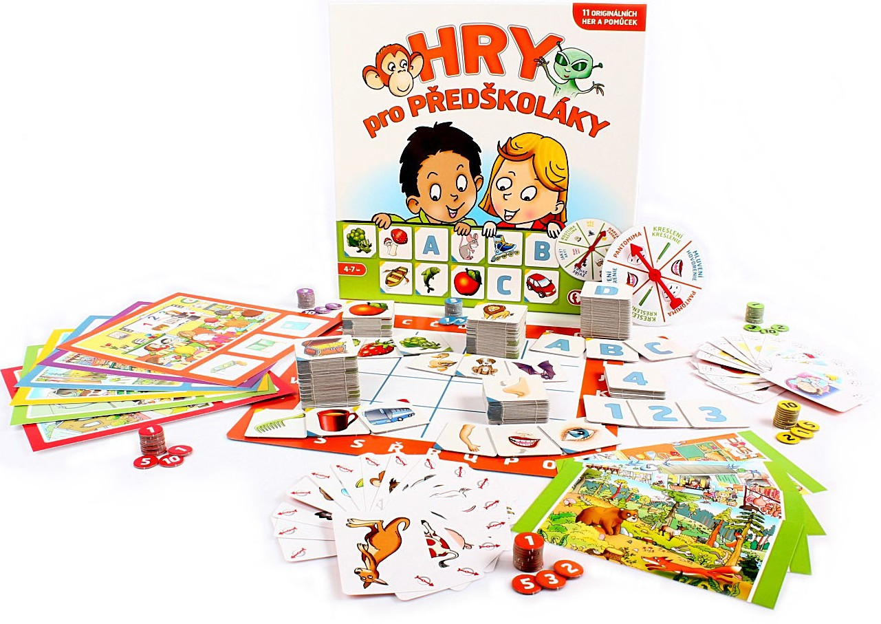 Hry pro předškoláky Efko - 11 her - spousta variant
