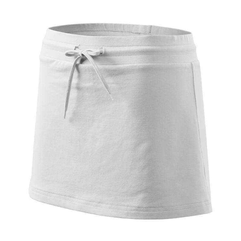 Sukně Adler se všitými kraťasy bílá XL
