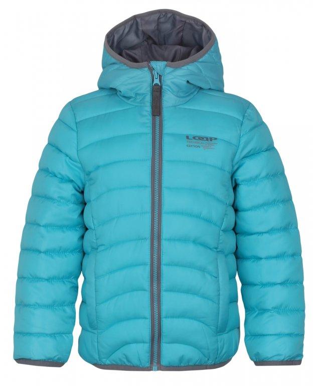 Zimní bunda Loap vel. 116 modrá 116